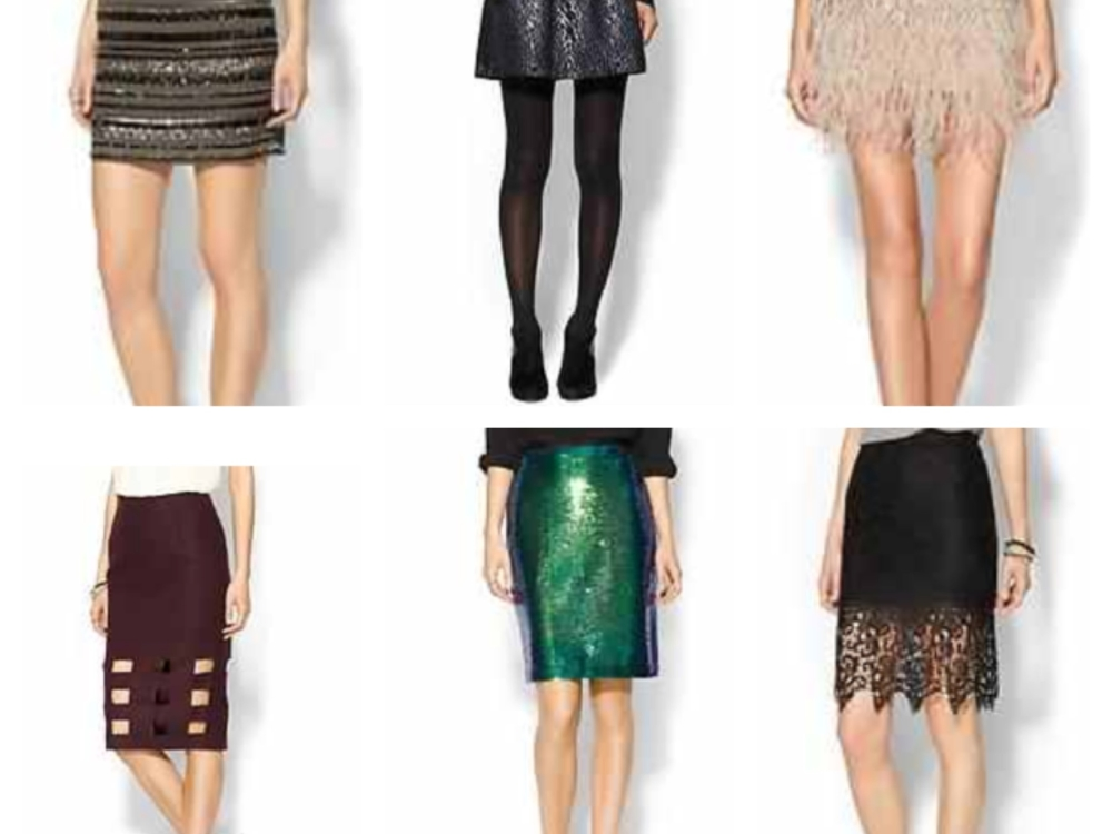 Holiday Party Skirts + Cyber Monday